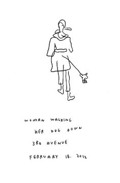 """every person in new york"" jason polan is attempting to draw them all... these make me so happy :)"