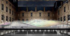 (E) Le Louvre continue de s'agrandir avec l'ajout de nouveaux bâtiments dont l'architecture est de style contemporain certes, mais tout en restant harmonieux #UneSource