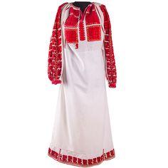 Ie colorată, cu mânecă lungă, din zona Muscelului Cold Shoulder Dress, Traditional, Dresses, Art, Fashion, Craft Art, Moda, Vestidos, Fashion Styles