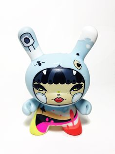 Dunny HiCalorie  Serie 3 2009  #Art #Design #Toy #Dunny