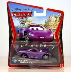 Amazon.com: Disney / Pixar CARS 2 Movie 155 Die Cast Car #5 Holley Shiftwell: Toys & Games