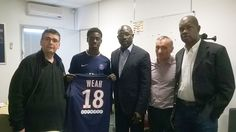 PSG Signs George Weahs Son On A Two-year Contract