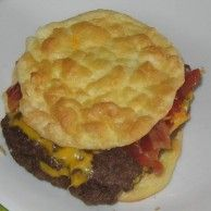 This is a dream come true when following the maintenance phase of the hCG Diet or for low carb dieters Gluten Free Buns, Gluten Free Recipes, Low Carb Recipes, Cooking Recipes, Bread Recipes, Jamie's Recipes, Family Recipes, Low Carb Bun, Low Carb
