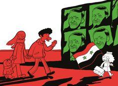 Riad Sattouf, retour vers le futur 2 http://www.decitre.fr/livres/l-arabe-du-futur-tome-2-une-jeunesse-au-moyen-orient-1984-1985-9782370730541.html