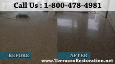 Terrazzo Polishing and Restoration Service in Boca Raton Floor Restoration, Restoration Services, Terrazzo Flooring, Concrete Floors, Floor Care, Fort Lauderdale, South Florida, Palm Beach, Concrete Floor