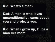 What's a man?