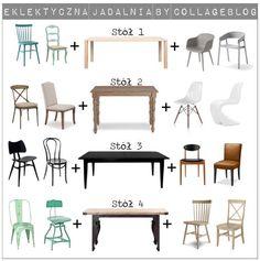 Dining room furniture - how to mix and match?  Jak łączyć i dobierać meble w jadalni? Poradnik