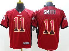 0cde89e58 2013 Men s Nike NFL Kansas City Chiefs  11 Alex Smith Red Drift Fashion  Elite Jerseys