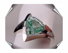 trillion cut designs   Designer Rings with Trillion Cut Gems - T. S. Brown Jewelry - T. S ...