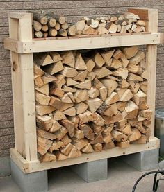 My Shed Plans - Firewood Holder Plans - Firewood Shed Plans, Firewood Racks - Now You Can Build ANY Shed In A Weekend Even If You've Zero Woodworking Experience! Outdoor Firewood Rack, Firewood Holder, Firewood Shed, Cheap Firewood, Indoor Firewood Storage, Outdoor Storage, Into The Woods, Outdoor Projects, Diy Projects