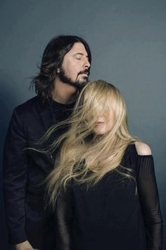 Grohl and Stevie Nicks.. Love them