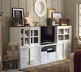 Winslow Media Suite with Wood Doors & Drawers, Pottery Barn