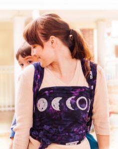 SOLD - Bali Breeze Luna gauze baby wrap