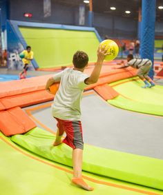 Air Trampoline Sports NJ | Are you ready to jump, climb, balance, dodge, and MUCH more?! Air Trampoline Sports has 18,000 square feet worth of trampolines for your group to enjoy.