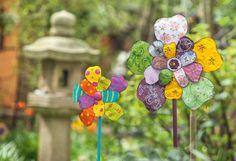 Anleitung für farbenfrohe Blumen aus Alu-Blech - VBS Hobby
