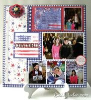 A Project by LAuclair from our Scrapbooking Gallery originally submitted 06/01/12 at 06:52 AM