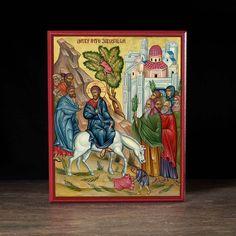 Entry Into Jerusalem (XXIc) Icon - F201 - Legacy Icons