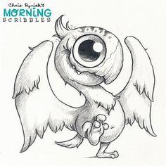 Dino Bird  #morningscribbles