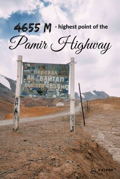 The Highest point of the Pamir Highway is Ak Baital Pass and is 4655 meters above sea level. Travel Photos, Travel Tips, Sea Level, Central Asia, Hotel Reviews, Asia Travel, Adventure Travel, Travel Inspiration, Traveling By Yourself
