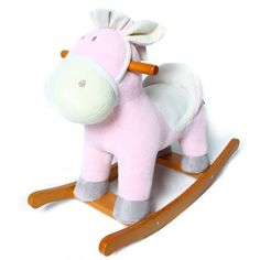 Hessie Donkey Rocking Horse(Pink)