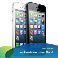 Menurut kabar yang tersebar, Apple sedang berencana untuk memproduksi iPhone dengan kisaran harga yang lebih murah dari versi iPhone sekarang. Kira-kira kalau Apple membuat iPhone yang lebih murah kalian akan beli ga?     *as posted on XL Rame