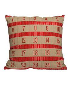 Advent Calendar Pillow/// LOVE!