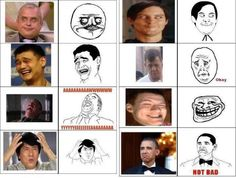 All the troll faces in one place