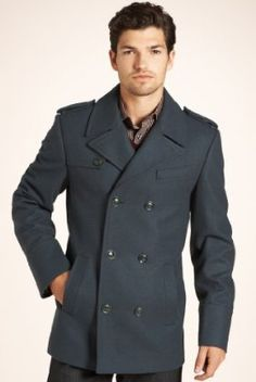 mens pea coat