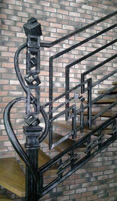 """Лестница """"Геометрия"""""""