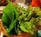 写真 : 豚たん [天満/韓国料理、朝鮮料理] - Yahoo!ロコ:サムギョプサルを巻いて食べる