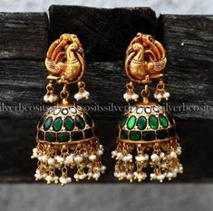 Who Buys Gold Jewelry Near Me Refferal: 3092601403 Gold Jhumka Earrings, Gold Earrings Designs, Jumka Earrings, Jhumka Designs, Trendy Jewelry, Fashion Jewelry, Bridal Jewelry, Silver Jewelry, Silver Ring