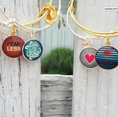 ALEX AND ANI CHARITY BY DESIGN Life Is Good Charm Bangles | CHARITY BY DESIGN | Expandable Charm Bangles | Fearless Charm Bangle | Life is Good Charm Bangle | Simplify Charm bangle | Listen To Your Heart Charm bangle