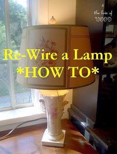 diy lamp rewiring let there be diy lights pinterest diagram rh pinterest com