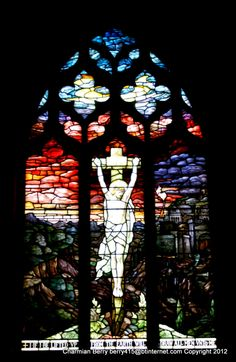 East window by Charmian S Berry - The beautiful East window in St. Mary Virgin Church at Waldringfield - this window is thought to be one of the most beautiful in the country. It is a tiny parish Church which is still open and well...