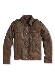 Gio Goi Leather Jacket February 2017