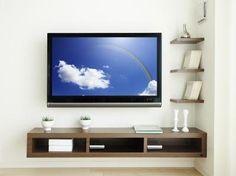 Wall Mounted TV Designs – Decorating Ideas > Furniture > HomeRevo.com