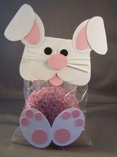 Punch Art Bunny Cupcake