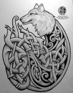 Celtic armband tattoo design by Tattoo-Design on DeviantArt Celtic Wolf Tattoo, Celtic Cross Tattoos, Celtic Tribal, Celtic Art, Tribal Wolf, Armband Tattoo Design, Wolf Tattoo Design, Tattoo Designs, Tattoo Ideas