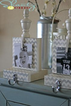 LOVE LOVE LOVE!!!! @Julie Wile Burley - I found our next MUST DO craft project!!  (DIY Stocking holders for less than $5)