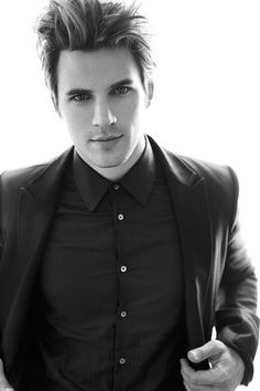 Matt Lanter. This guy is gorgeous in black and white....gorgeous anyway  :)