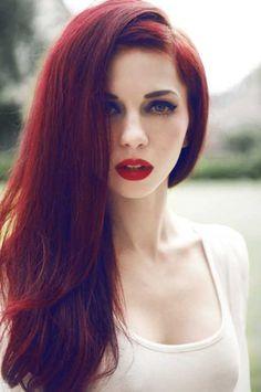 #hair #red #velvet