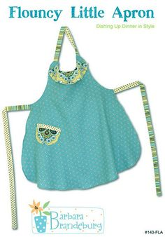 Other patterns for sale also - Flouncy Little Apron Pattern