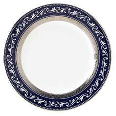 Noritake Crestwood Cobalt Platinum Accent Plate, 9-inches Review