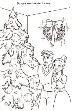 The Princess And Frog Christmas Tree