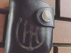 HR is REDMOON Basic Model Leather wallet. # #RedmoonWallet #RedmoonTradingPost