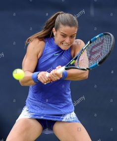 Greece's Maria Sakkari during day two . Female Volleyball Players, Tennis Players Female, Tennis Photography, Tennis Center, Tennis Tournaments, Beautiful Athletes, Sport Tennis, Tennis Stars, Tennis Clothes