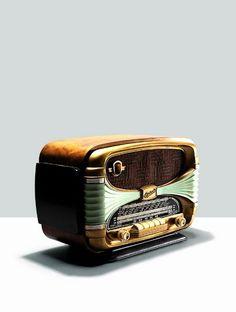 Vintage radio – watmannenechtwillen
