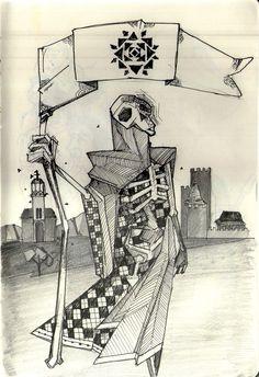 The Death by Cássio Prates de Lima, via Behance