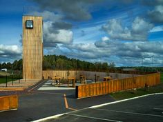 La torre di Todd Saunders tra Norvegia e Svezia