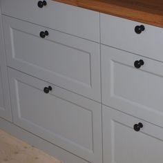 Koak Design zet houten deuren voor je Ikea keuken....